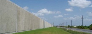 Harvey Canal Floodwall