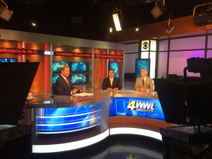 J. Monzon on WWL Morning News