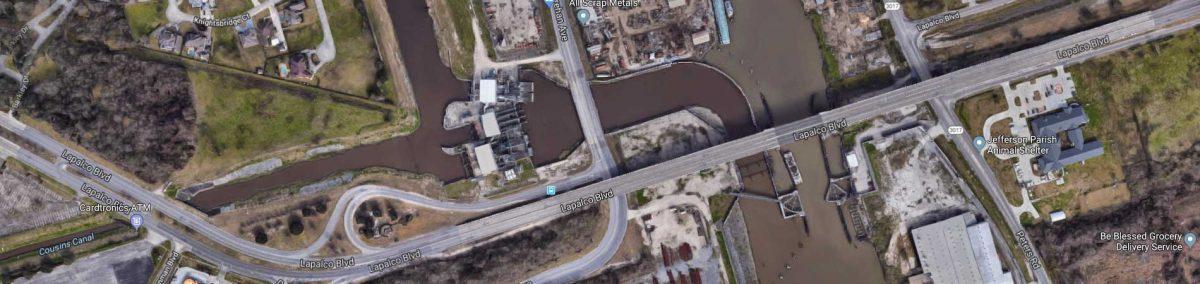 Harvy Canal Flood Gate Status